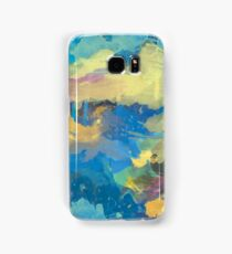 Abstract Blue waterCOOLER  Samsung Galaxy Case/Skin