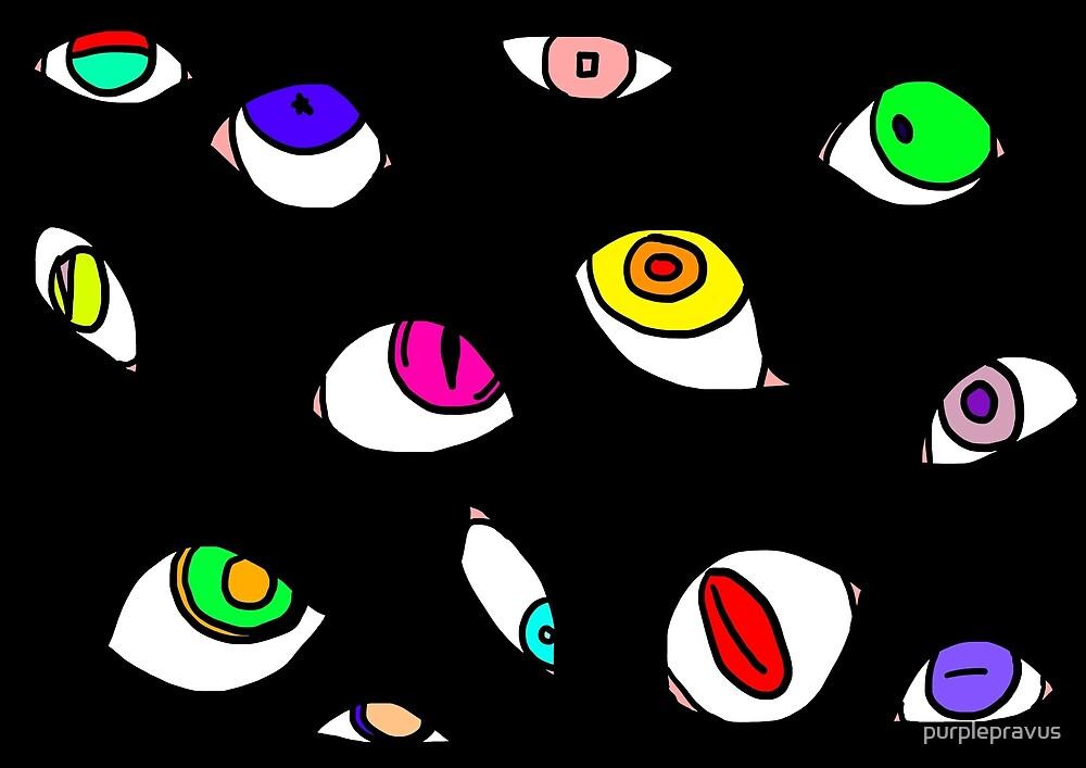Demon Eye Doodle-Look by purplepravus