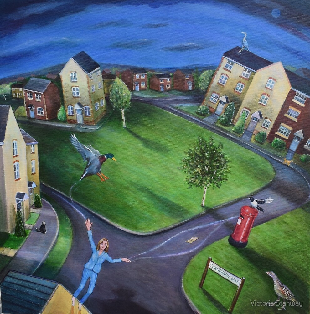Surreal Suburbia by Victoria Stanway