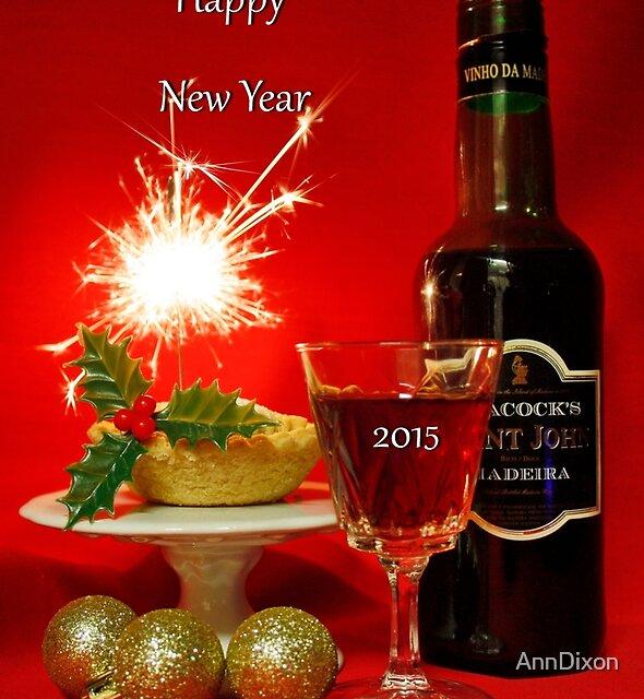 HAPPY NEW YEAR Everyone by AnnDixon
