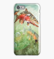 Brown Trout & Gin iPhone Case/Skin