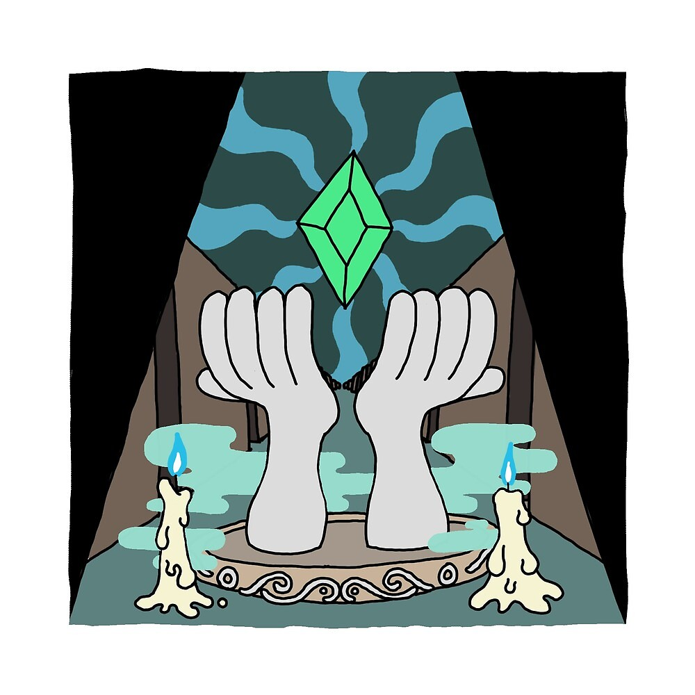Shrine of the Power Jewel by eatenalive
