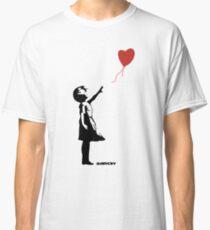 Banksy Girl Red Balloon Classic T-Shirt