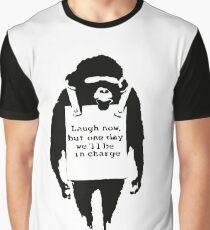 Banksy - Monkey Graphic T-Shirt