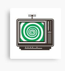 Television Canvas Print