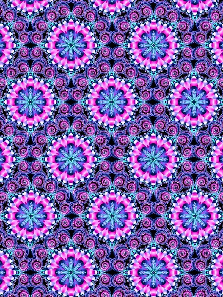 Mandala shades of pink by BURPdesigns