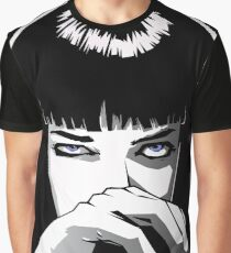 Mia Wallace Pulp Fiction Graphic T-Shirt