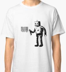 Banksy Robot Classic T-Shirt