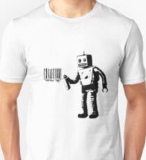 Banksy Robot Unisex T-Shirt
