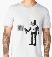 Banksy Robot Men's Premium T-Shirt