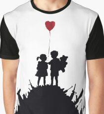 Banksy Guns Graphic T-Shirt