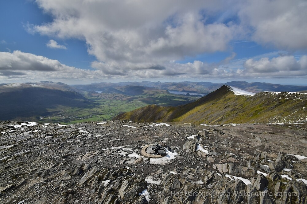 The Lake District: Blencathra Summit by Rob Parsons (AKA Just a Walker with a Camera)