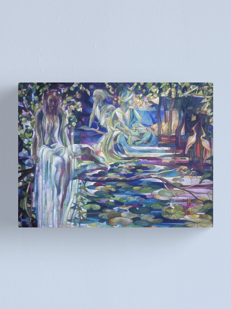 Alternate view of naiades Canvas Print