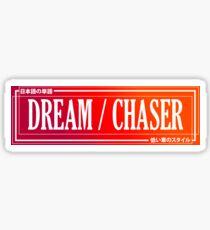 Auto-Klaps - TRAUM-CHASER [[[ROT]]] Sticker