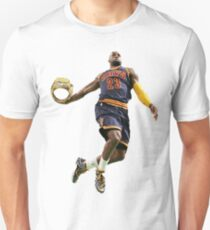 King James bringing a championship to the land Unisex T-Shirt