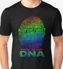 ACUPUNCTURIST DNA DESIGN Unisex T-Shirt