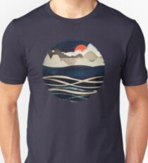 Midnight Beach Unisex T-Shirt