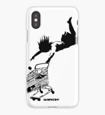 Banksy - Shop 'til you drop iPhone Case/Skin