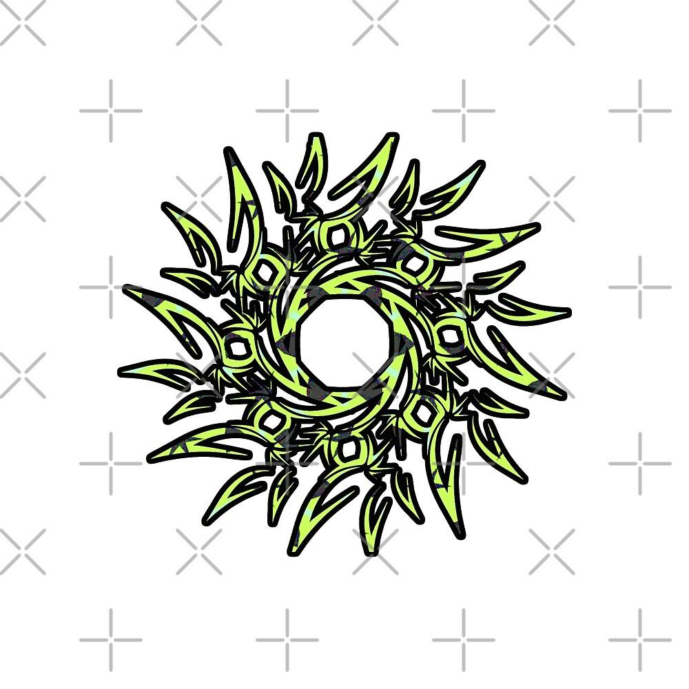 Fancy Sun Design by Daniel Ward