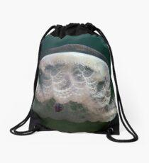 Haeckel's jellyfish (Pseudorhiza haeckeli) - Upper Spencer Gulf, South Australia Drawstring Bag
