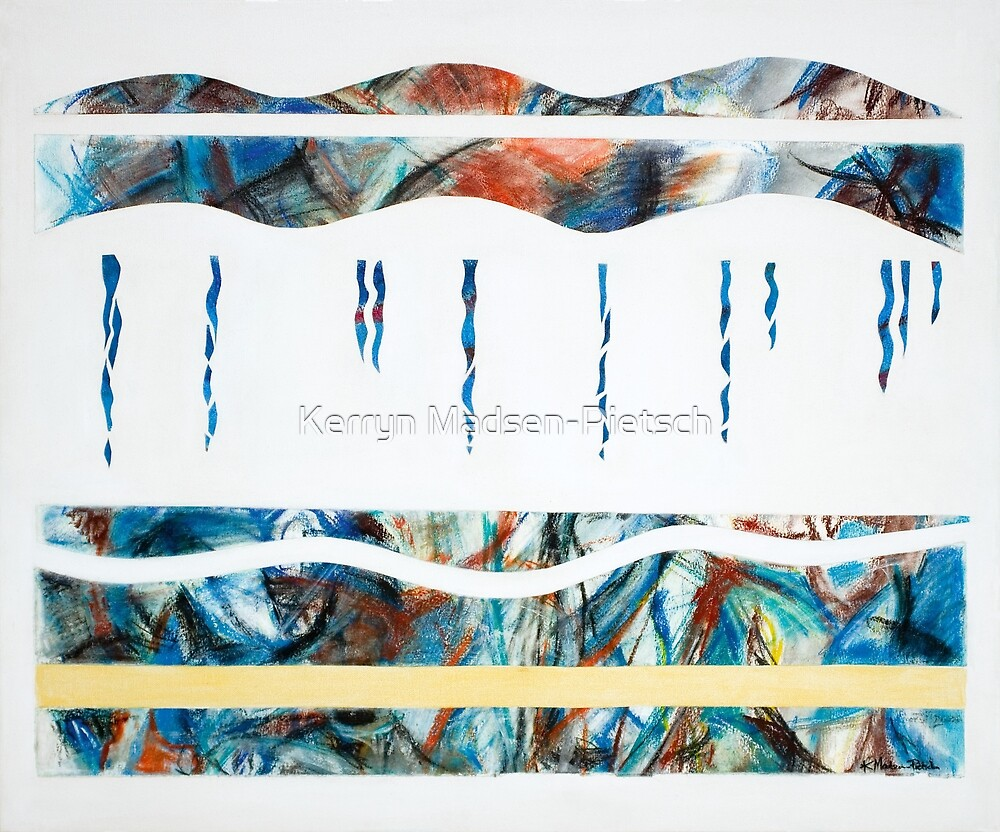 Layers - Beneath the surface (Panel 2 of 4) by Kerryn Madsen-Pietsch