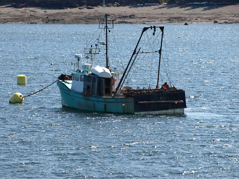 NC fishing boat by Albert1000