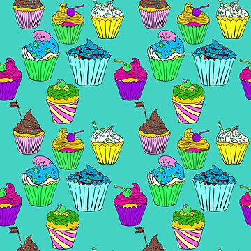 Cupcakes pattern by ullithehat