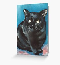 Moggie Greeting Card