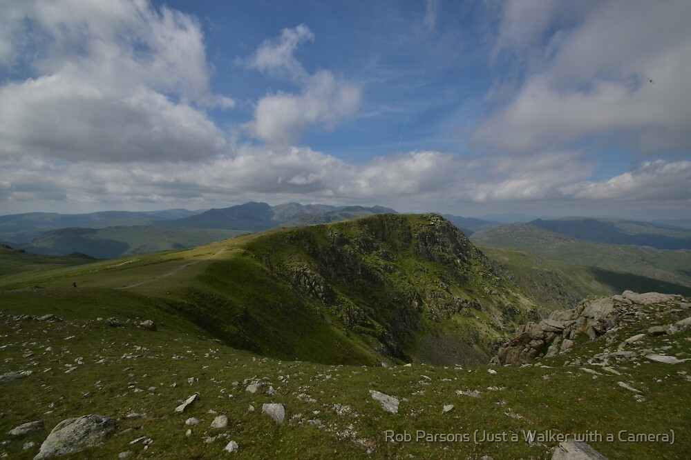 The Lake District: Great Carrs from Swirl How by Rob Parsons (AKA Just a Walker with a Camera)