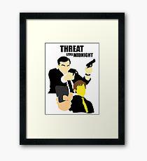 The Office - Threat Level Midnight Framed Print