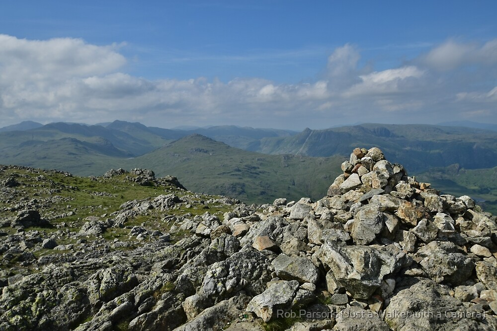 The Lake District: The Summit of Wetherlam by Rob Parsons (Just a Walker with a Camera)