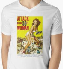 1958 movie poster Attack of the 50 Foot Woman T-Shirt