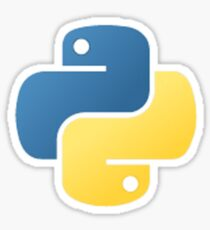 Python Programming Language  Sticker