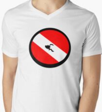Dare to Dive Men's V-Neck T-Shirt
