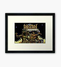 Rastan Title Framed Print