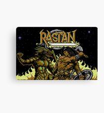 Rastan Title Canvas Print