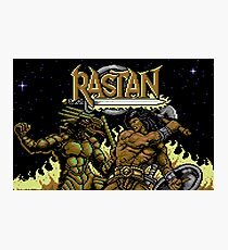 Rastan Title Photographic Print