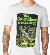1968 movie poster the green slime Men's Premium T-Shirt