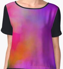 Colorful lights background. Chiffon Top