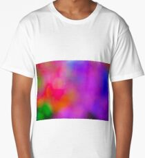 Colorful lights background. Long T-Shirt