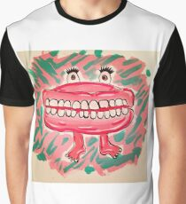 Toothy Grin  Graphic T-Shirt