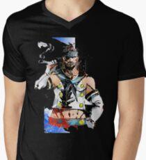 Snake... what the hell... Mens V-Neck T-Shirt