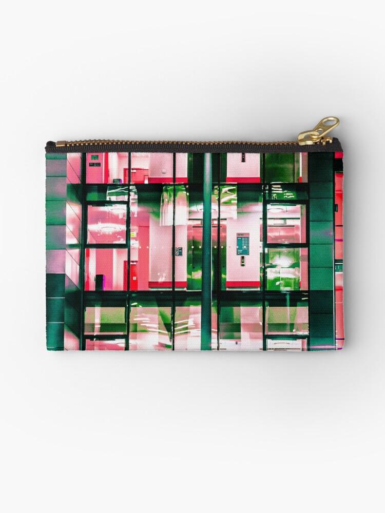 City Blocks Red by Patrick M Higgins