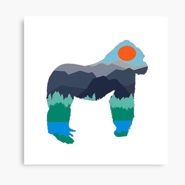 Gorilla Days Canvas Print