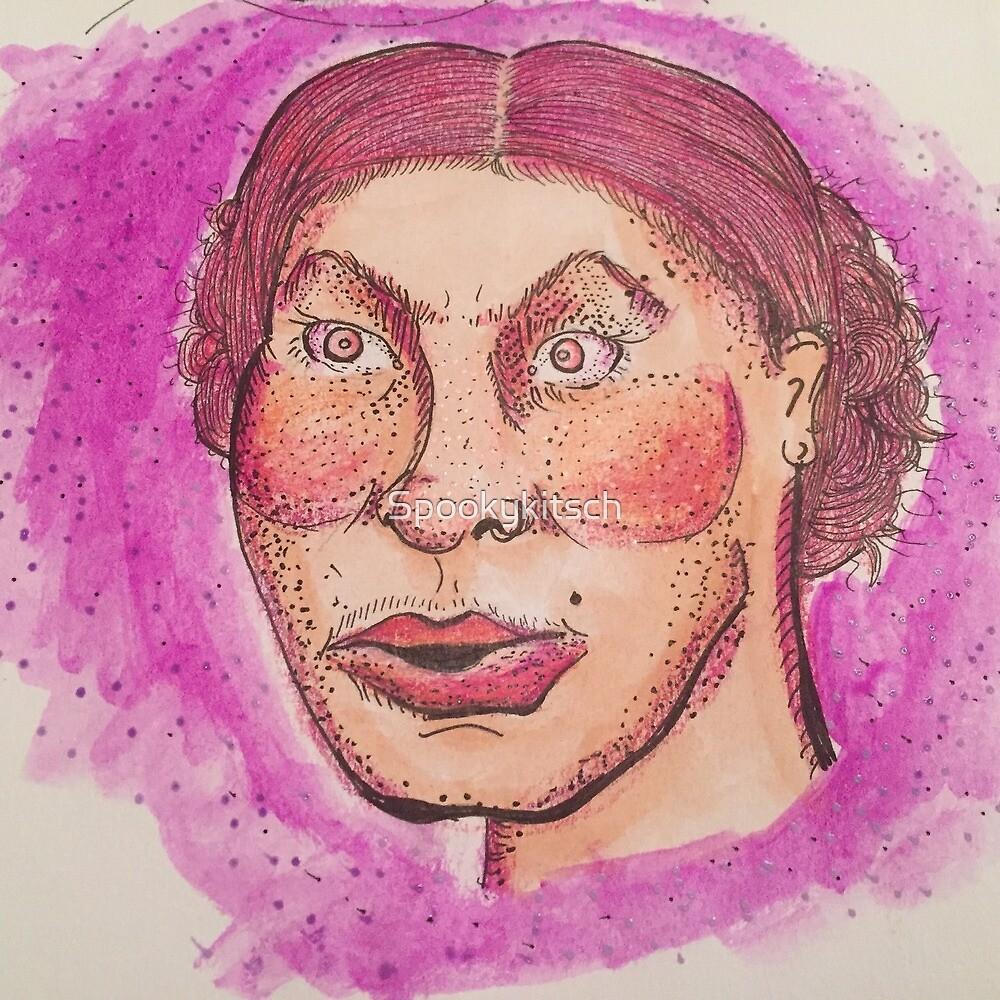 Amazon woman  by Spookykitsch