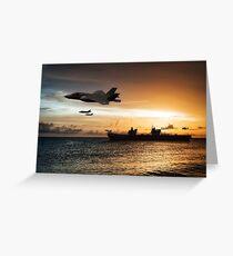 HMS Queen Elizabeth Greeting Card