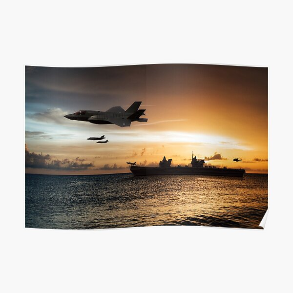 HMS Queen Elizabeth Poster