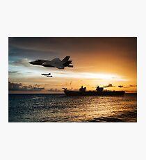 HMS Queen Elizabeth Photographic Print