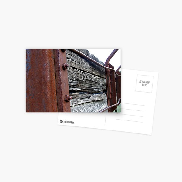 More Rust Postcard