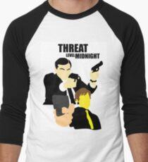 The Office - Threat Level Midnight Men's Baseball ¾ T-Shirt